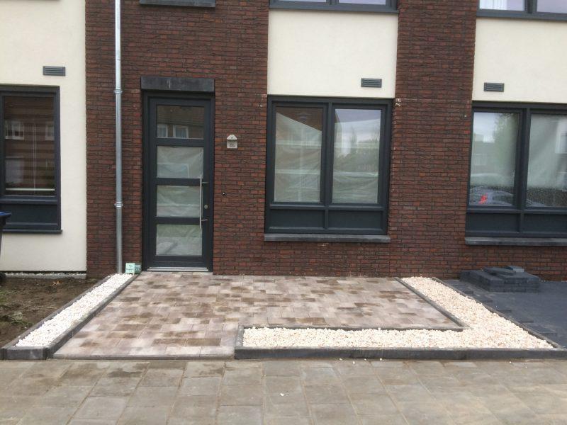 Nieuwbouw woning tuinaanleg Helmond