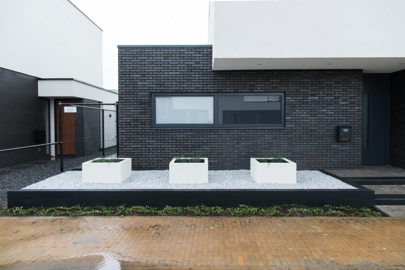 Tuinaanleg nieuwbouw villa Eimdhoven