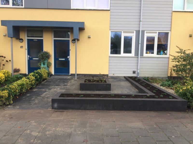 Voortuin renovatie Boxmeer